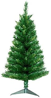 JeCo Tacoma Pine Artificial Christmas Tree, 3', Multi