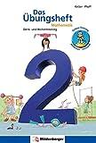 Das Übungsheft Mathematik 2: Denk- und Rechentraining: Denk- und Rechentraining. Mit Lsungsheft (20 S.), Stickerbogen