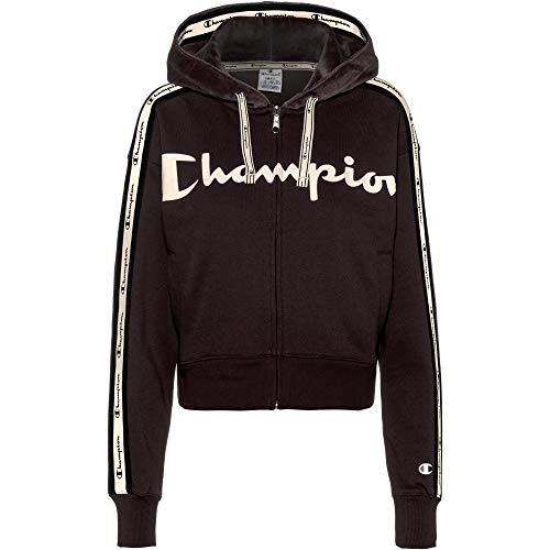CHAMPION Damen Sweatjacke schwarz L