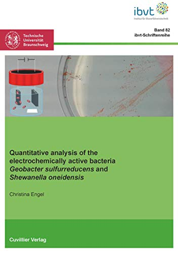 Quantitative analysis of the electrochemically active bacteria Geobacter sulfurreducens and Shewanella oneidensis (English Edition)