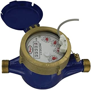 Dwyer Multi-Jet Water Meter w/ Pulsed Output, WMT2-A-C-04-1, 1