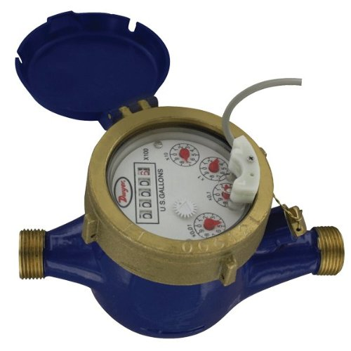 Dwyer Multi-Jet Water Meter Surprise price w Pulsed Branded goods Output WMT2-B-C-14-10 2