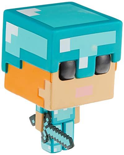Funko - Figurine Minecraft - Alex In Diamond Armor Exclu Pop 10cm - 0889698264013