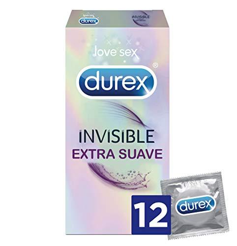 Durex Invisible Extra Sensitivo Preservativos - Paquete de 12