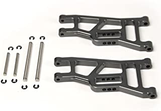Atomik RC Alloy Front Lower Arm, Grey fits the Traxxas 1/10 Slash and Other Traxxas Models - Replaces Traxxas Part 3631