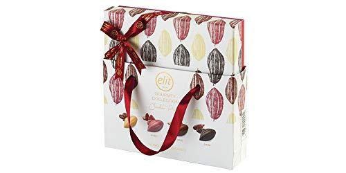 Elit Gourmet Collection Schokoladenpralinen mit Geschenktasche 160g