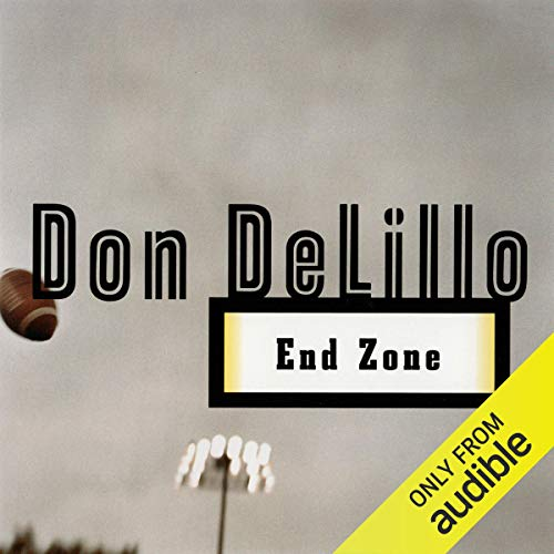 End Zone audiobook cover art
