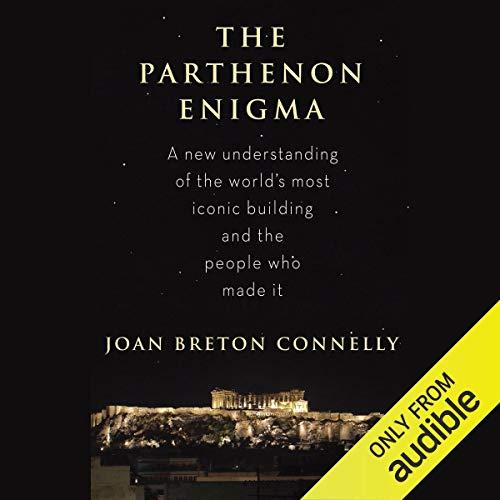 The Parthenon Enigma audiobook cover art