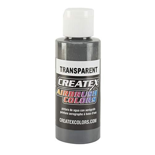 Createx Airbrush Paint, Transparent Medium Gray, 2 oz (5129-02)