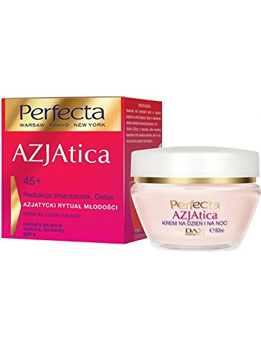 DAX PERFECTA AZJATICA Antifalten Tag&Nacht Creme Matcha+Bioferment 45+ 50ml