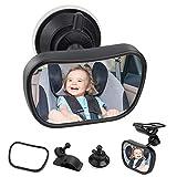 Specchietto Retrovisore Bambini,Bambino Vista Posteriore Specchio, Specchio Per Auto Sedile Posteriore Specchio, Specchio Auto Regolabile Per Bambini Specchietto Per Sedili Posteriori