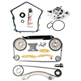 ANPART Automotive Replacement Parts Engine Kits Timing Chain Kit Water Pump Timing Cover Gasket Set Fit: for Buick Lacrosse 2.4L 2010-2013