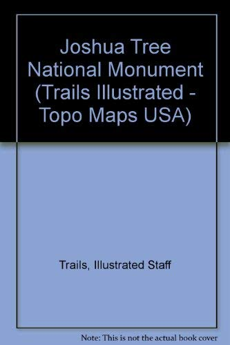 National Geographic Trails Illustrated Joshua Tree: National Park California, USA (Trails Illustrated - Topo Maps USA)