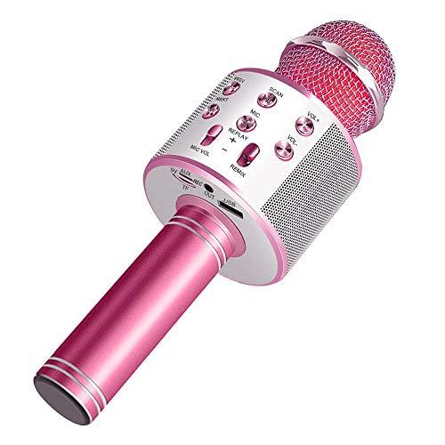 Wireless Bluetooth Karaoke Microphone Machine,Portable...