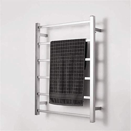 N/Z Inicio Equipos Rieles toalleros calefactables Calentador de Toallas Calentador de Toallas de baño de 6 Barras - Línea Abierta de Acero Inoxidable (Color: Línea Abierta)