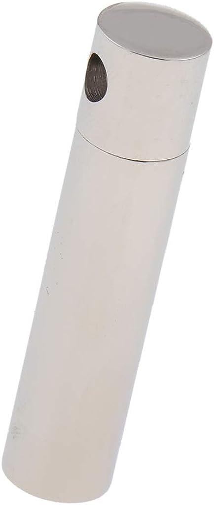 Bonarty Necklace Column Pendant Urn Ashes Memorial Tube Keepsake Stainless Steel