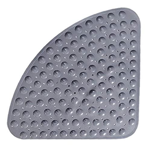 NaiCasy Alfombra de baño Antideslizante Ducha Alfombra Anti-bacteriana Mat Cuarto de baño con ventosas Calchotenas Bañera Gris