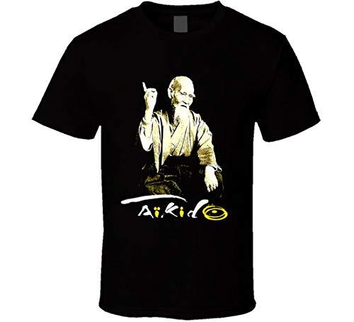 Moriheri Ueshiba - Camiseta para artes marciales, artes marc