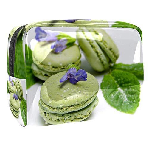TIZORAX Sac à maquillage en PVC pour femme Vert macaron