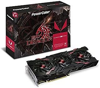 PowerColor ビデオカード RED DRAGONシリーズ AMD Radeon RX VEGA56搭載 2スロットタイプ AXRX VEGA 56 8GBHBM2-2D2HD/OC