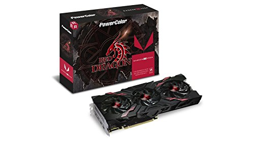 PowerColor AMD Radeon Vega 56 RED Dragon HBM2 8GB 2 x...