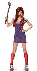 sexy chucky halloween costume redhead wig