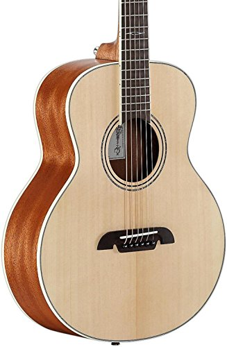 Alvarez LJ2E Little Jumbo Travel Guitar with Deluxe Gig Bag & EQ