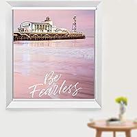 ローラーブラインド 女の子/保育園/ベッドルームブラックアウトローラーブラインド装飾、 ピンクの断熱ライトローラーシェード、ワイド75/95/105/115/135 cm (Size : W105×H190cm)