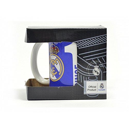 Real Madrid CF - Since 1902 - Tazza ufficiale (Taglia unica) (Blu/Bianco)