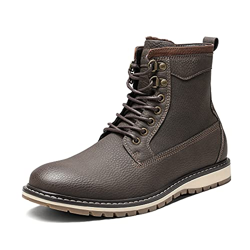 Bruno Marc Men's SBCB212M Chukka Boots,BRONZE,Size 8.5