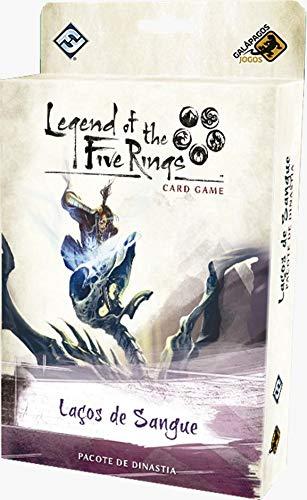 Legend of the Five Rings Laços de Sangue Ciclo da Herança Jogo de Cartas Galapagos L5R020
