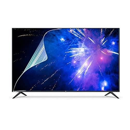 LSSB Luz Azul Anti Protector De Pantalla De TV para TV De 32-70 Pulgadas, Antideslumbrante/Anti-Reflexión/Antiarañazos Hacer Que La Luz Suave Ayudarle A Conciliar El Sueño Mejor, Personalizable