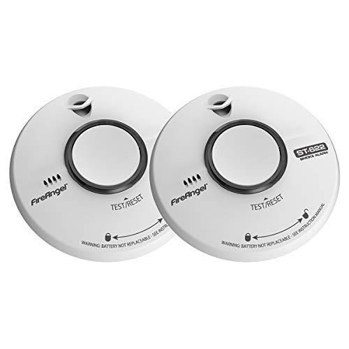 FireAngel ST-622T Smoke Alarm, 2 Pack