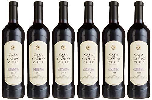 Casa De Campo Cabernet Carmenere Rouge Chile rotwein (6 x 0.75 l)