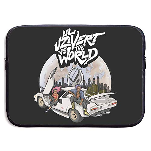 Hdadwy The World Music Laptop Sleeve Bag Notebook Computer, Water Repellent Polyester Protective Case Cover Theme Design Laptop