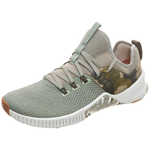 Nike Herren Trainingsschuh Free X Metcon Sneakers, Mehrfarbig (Dark Stucco/Olive Canvas/Light Silver 002), 44.5 EU