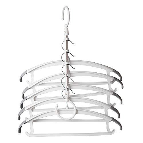 Hangers magiques économiser l'espace, Hanger sac de rangement Smart Closet, sauf l'espace, en plastique robuste peut être utilisé for vêtements lourds