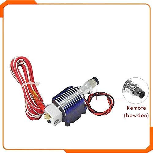 WNJ-TOOL 1 stuk 3D-printer V6 J-kop hotend koelset extruder houder ventilator blok thermistances mondstuk 0,4 mm 1,75 mm filament bowden onderdelen