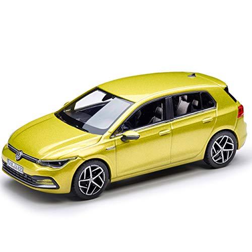 Volkswagen 5H009930010W Modellauto 1:43 Golf 8 Miniatur, Limonengelb