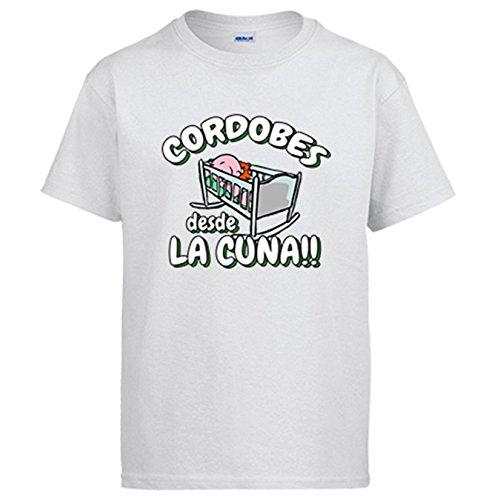 Camiseta Cordobés Desde la Cuna Córdoba fútbol - Blanco, L