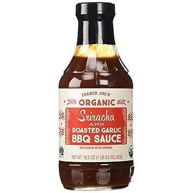 Trader Joe's Organic Sriracha & Roasted Garlic BBQ Sauce 19.5 Oz