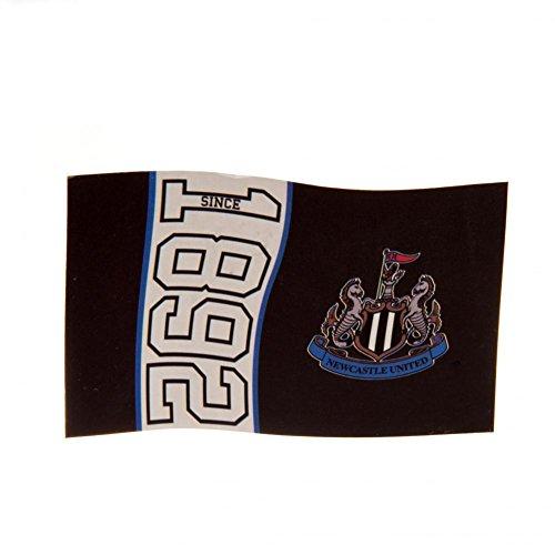 Newcastle Utd FC Football Since 1892 Flag Black White Supporter Fan Match Banner
