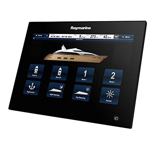 Raymarine gS195 19-Inch Glass Bridge Multifunction Display Marine GPS System – Black