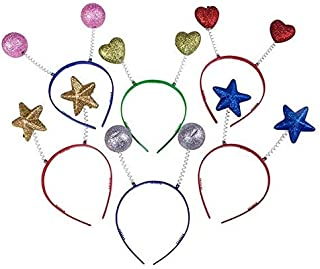 Rhode Island Novelty Assorted Sparkle Head Boppers Set of 12