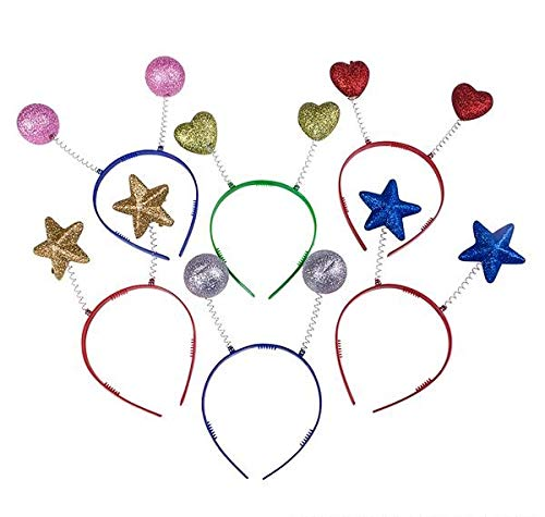 Great Price! Rhode Island Novelty Assorted Sparkle Head Boppers Set of 24