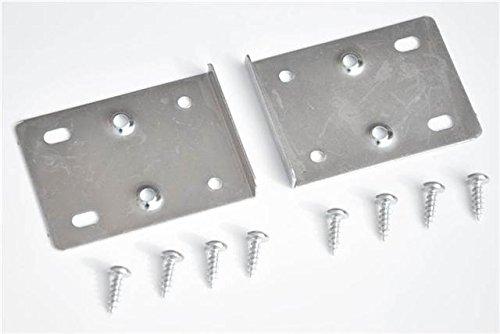 Reparaturset für Küchenschrank-Scharniere, enthält 10 Platten und Befestigungsschrauben