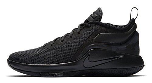 Nike Herren Lebron Witness II Schwarz Textil/Synthetik Sneaker 45