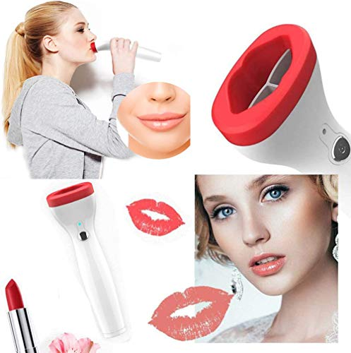 XYWN Lip Plumper Enhancer Tool, Electric Fuller Lip Plumpers USB Charging Automatic Lip Plumper Enhancer with 3 Different Shift Suction