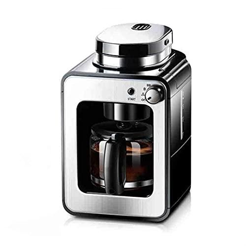 Ekspres do kawy Ekspres do kawy Espresso Coffee Maszyna Inteligentna konserwacja ciepła Maszyna All-in-One Odpowiedni do biura domowego (Color : Black, Rozmiar : One size)