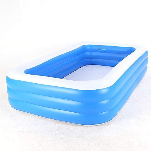 WSDSX Piscinas, Piscinas inflables, Piscinas Interiores y Exteriores para el hogar, Piscinas de Bolas oceánicas agrandadas y engrosadas, niños, Adultos, Varios tamaños, 4XL